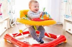 Bebek gelişiminde yürüteç, örümcek