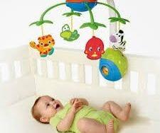 Yeni doğana oyuncak seçimi