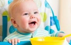 Bebekler ve çocuklar için sağlıklı gıda takviyeleri