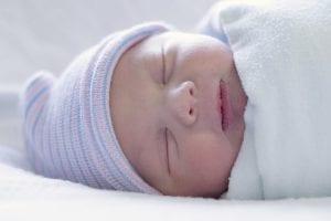 bebekte uyku